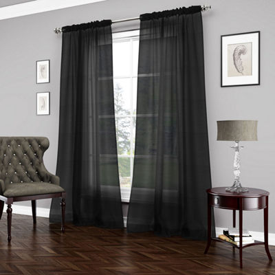 Beautyrest Carrington Rod-Pocket Curtain Panel