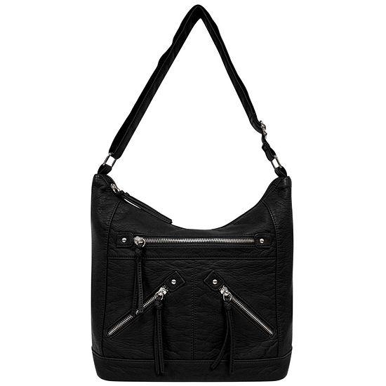 St. John's Bay Zippered Hobo Bag