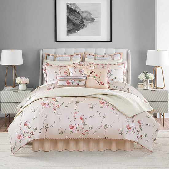 Croscill Classics Blyth 4-pc. Floral Heavyweight Comforter Set