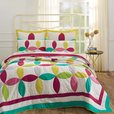 Ashton And Willow Everly Reversible Quilt Set