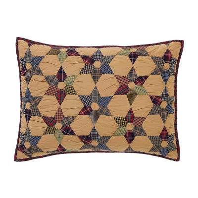 Ashton And Willow Kilton Star Reversible Pillow Sham