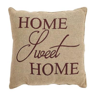 Ashton And Willow Home Sweet Home 12x12 Throw Pillow