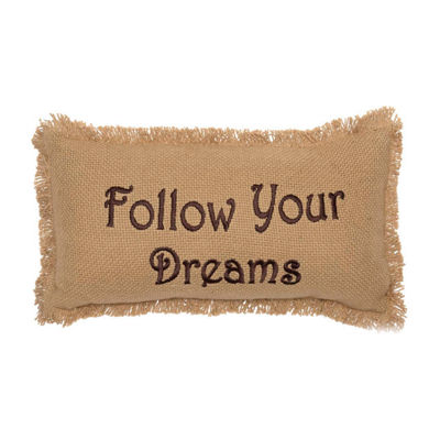 Ashton And Willow Follow Your Dreams 7x13 Lumbar Pillow