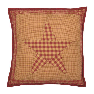 Ashton And Willow Cody Burgundy Star 16x16 Throw Pillow