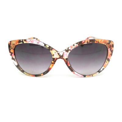 Fantas Eyes Womens Shore Thing Full Frame Cat Eye UV Protection Sunglasses