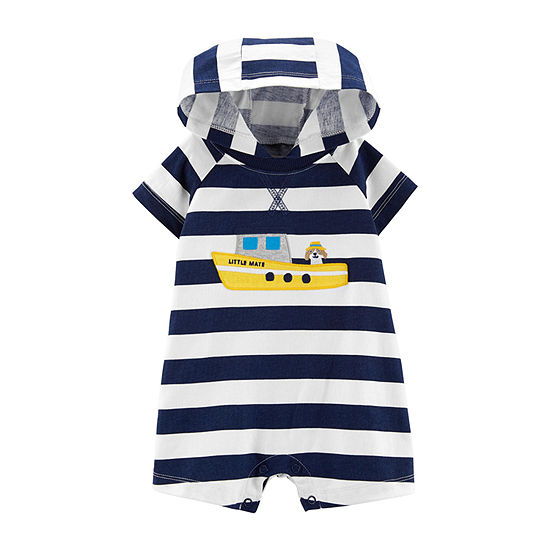 Carter's Short Sleeve Romper Boys