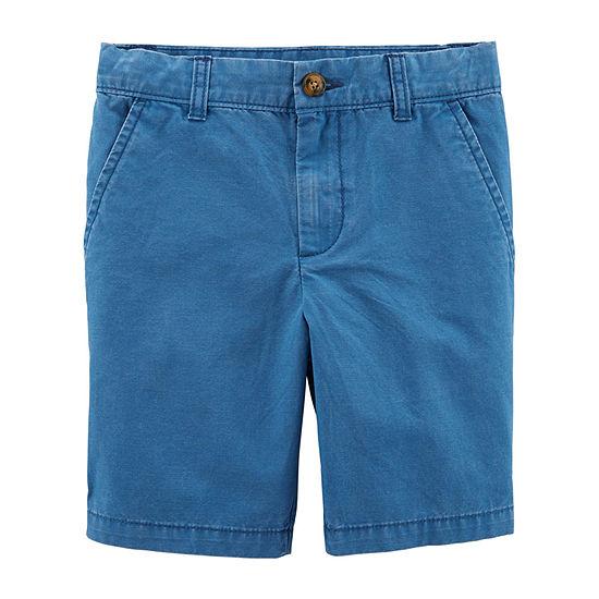 Carter's Boys Adjustable Waist Chino Short Preschool / Big Kid