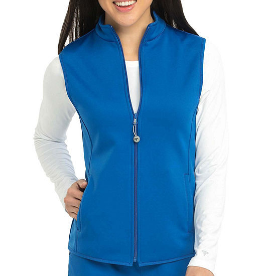 Med Couture Womens 8690 Performance Fleece Scrub Vest