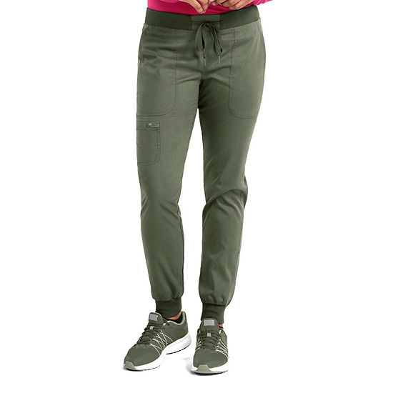 Med Couture 7710 Womens Jogge Yoga  Scrub Pants-Plus