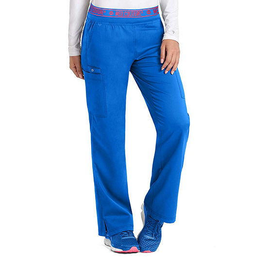 Med Couture Womens 7739T Yoga 2 Cargo Scrub Pants - Tall
