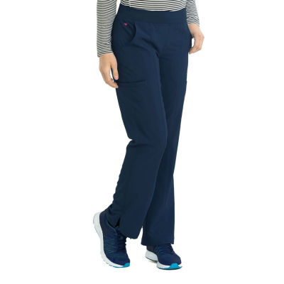 Med Couture Womens 8744P Yoga 2 Cargo Pocket Scrub Pants - Petite