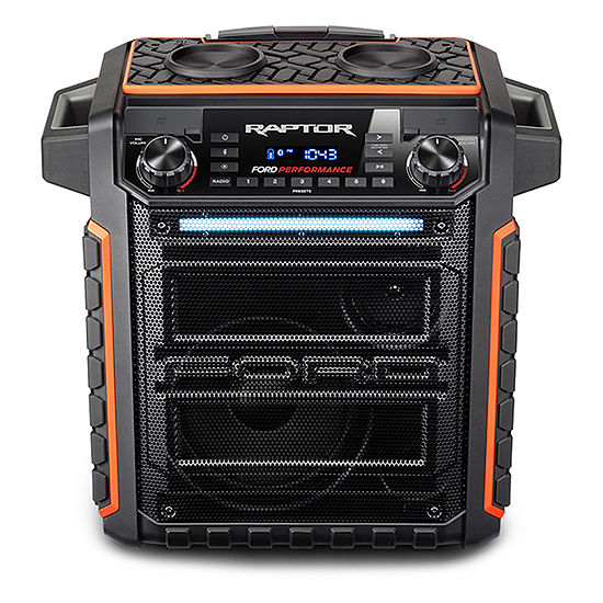Ion Audio Raptor Ford Wireless Portable Water-Resistant Speaker with Bluetooth