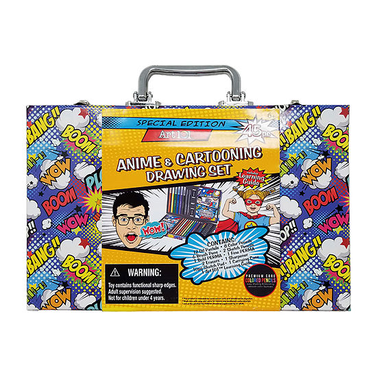 Art 101 45-Piece Anime & Cartooning Drawing Set