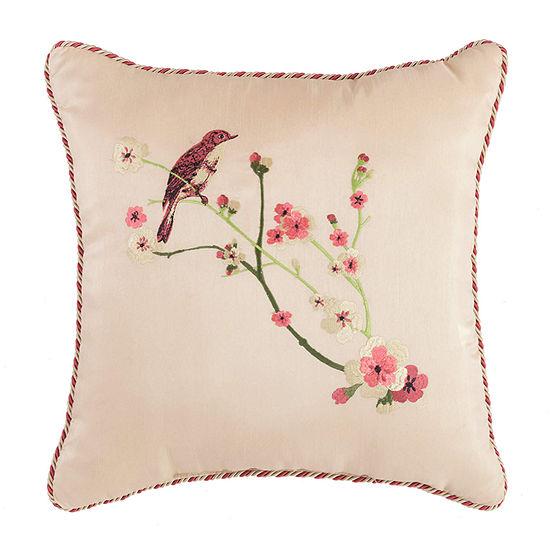 Croscill Classics Blyth 16x16 Square Throw Pillow