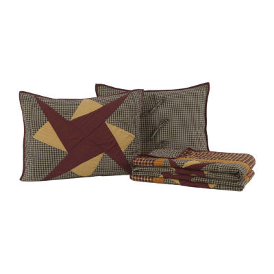 Ashton And Willow Folksway Reversible Quilt Set