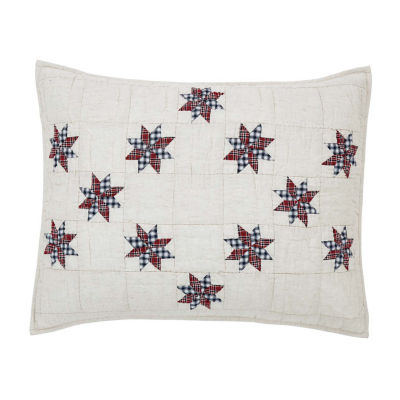 Ashton And Willow Lincoln Embellished Pillow Sham