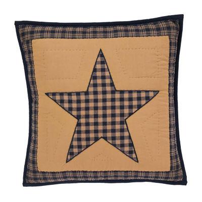 Ashton And Willow Cody Navy Star 16x16 Throw Pillow