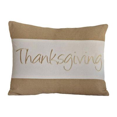Ashton And Willow Thanksgiving 14x18 Lumbar Pillow
