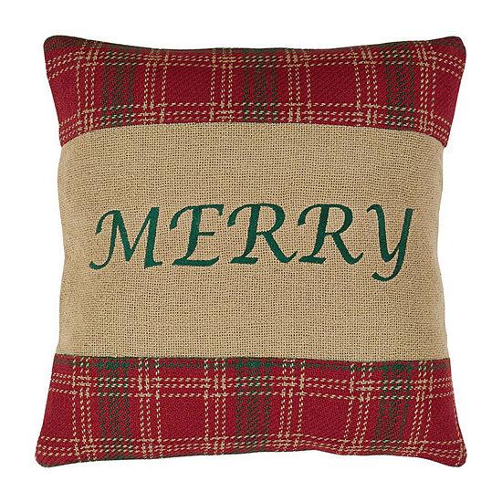 Ashton And Willow Whitton Merry 16x16 Throw Pillow