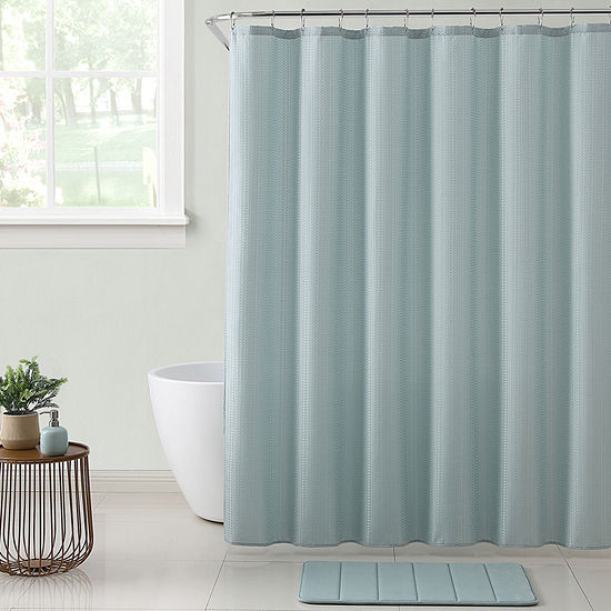 VCNY Clarinda Shower Curtain Set
