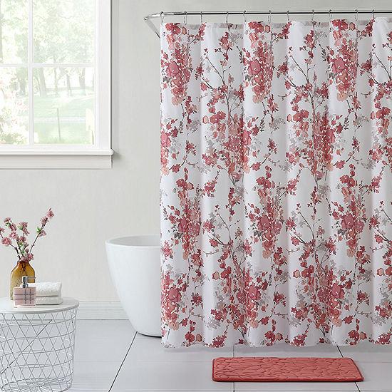 VCNY Tisbury Shower Curtain Set