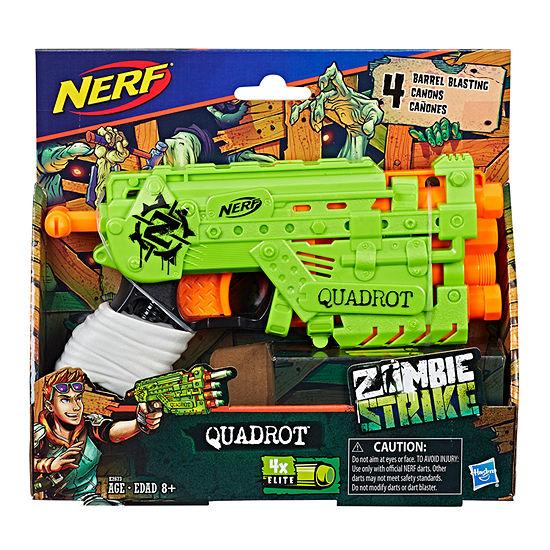 Nerf Zombie Strike Quadrot 5-pc. Toy Playset - Boys