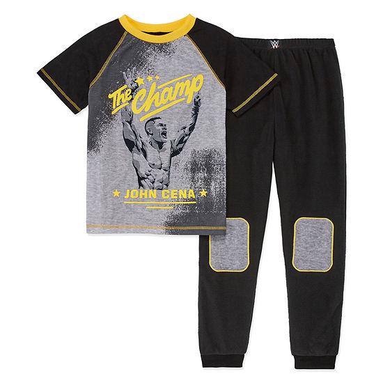 WWE 2-pc. Pajama Set Preschool / Big Kid Boys