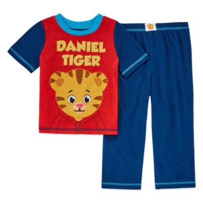 Daniel Tiger'S Neighborhood 2-pc. Pajama Set Toddler Boys