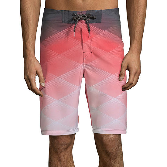 Ocean Current Gradius Coral Board Shorts