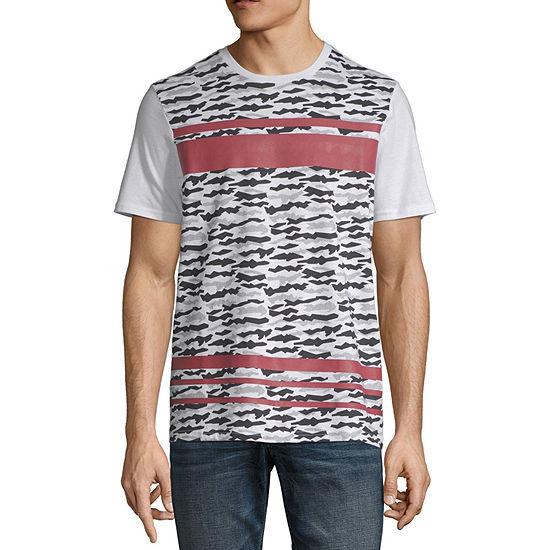 i jeans by Buffalo Mens Crew Neck Short Sleeve T-Shirt