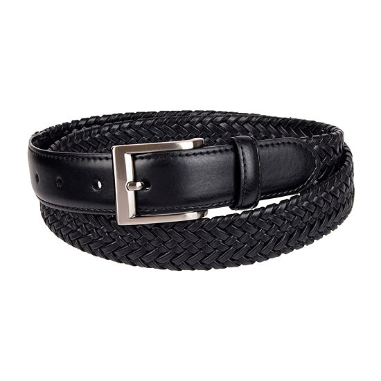 Stafford® Braided Men's Stretch Belt