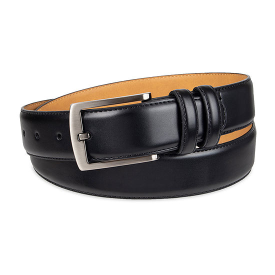 Collection By Michael Strahan Men's Dress Belt with Single Stitch