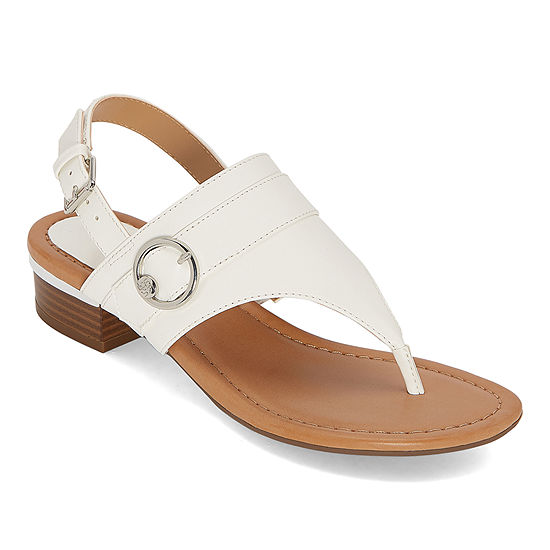 Liz Claiborne Womens Turf Heeled Sandals
