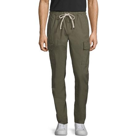 Arizona Mens Slim Fit Jogger Pant, Small , Green