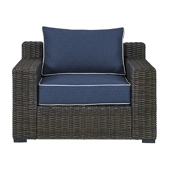Signature Design by Ashley Grasson Lane Patio Lounge Chair