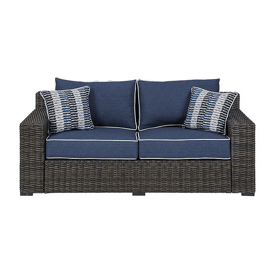 Signature Design by Ashley Grasson Lane Patio Sofa