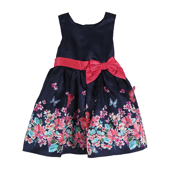 Lilt Toddler Girls Sleeveless Party Dress
