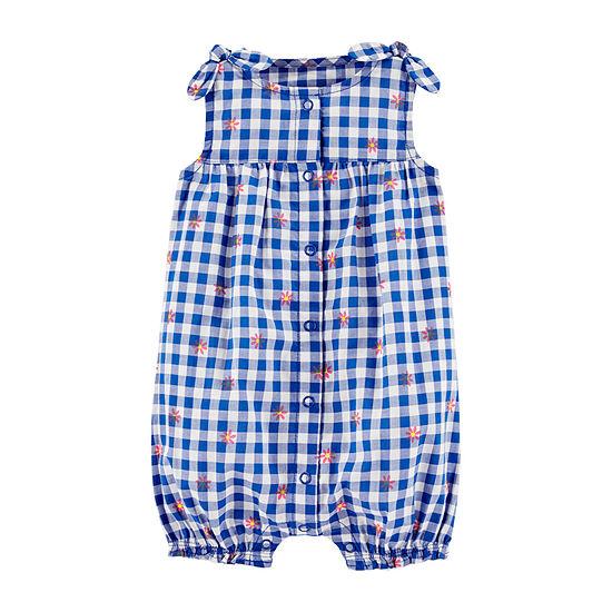Carter's - Baby Girls Short Sleeve Romper