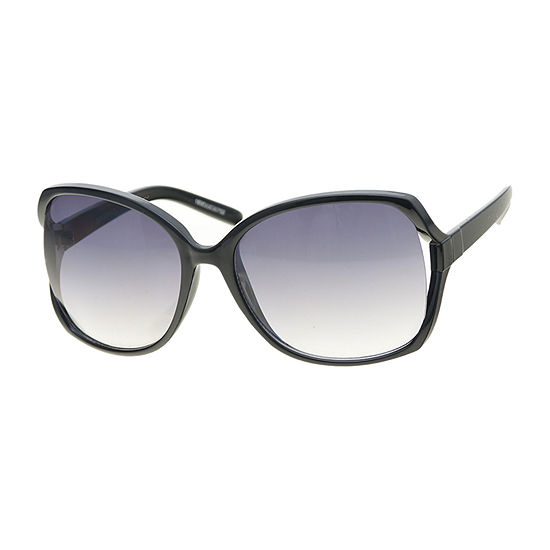 a.n.a Plastic Vented Square Womens Sunglasses