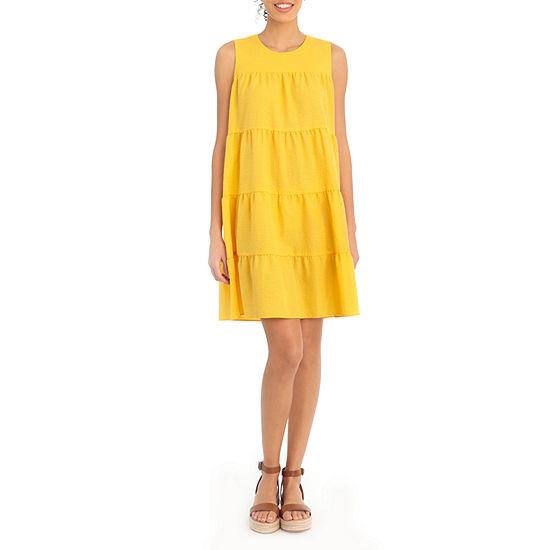 Clover And Sloane Sleeveless Babydoll Dress