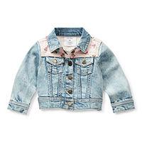 Okie Dokie Baby Girls Denim Jacket