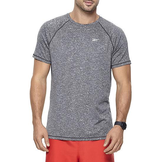 Reebok Mens Crew Neck Short Sleeve T-Shirt