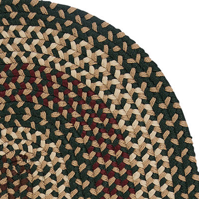 Colonial Mills® Brook Farm Reversible Braided Indoor Outdoor Round Rug