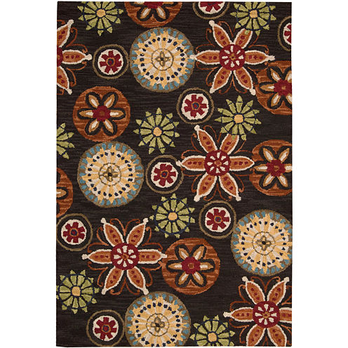 Nourison® Star Fish Wool Rectangular Rugs