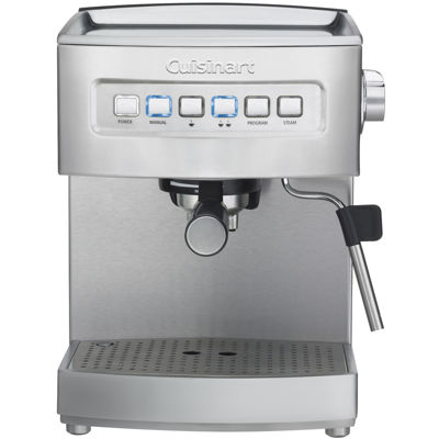 Cuisinart® Stainless Steel Programmable Espresso Maker