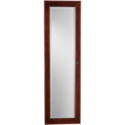 Declan Mirrored Wall-Mounted Full Length Jewelry Armoire