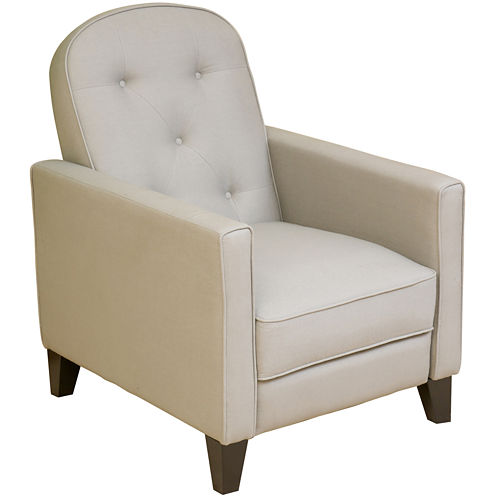Johnstown Fabric Tufted Recliner