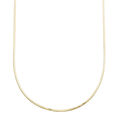"Infinite Gold™ 14K Yellow Gold 18"" Snake Chain Necklace"