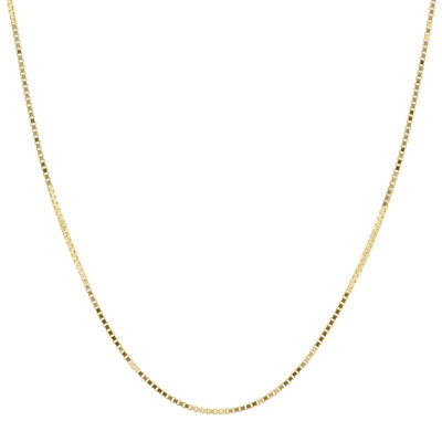 "Infinite Gold™ 14K Yellow Gold 18"" Box Chain Necklace"