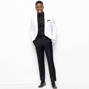 jcpenney.com | JF J. Ferrar® Cotton Sport Coat, Flat-Front Pants or Dress Shirt